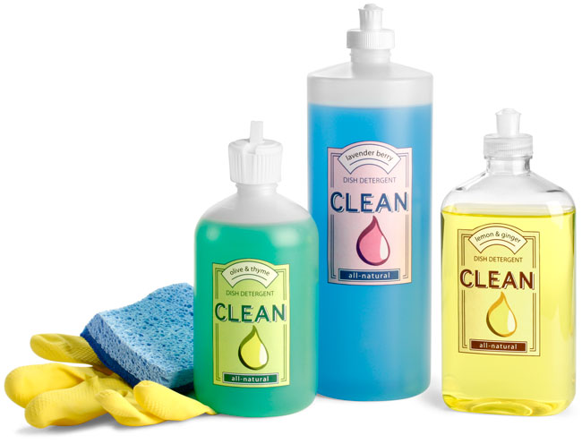 Plastic Dish Soap Bottles