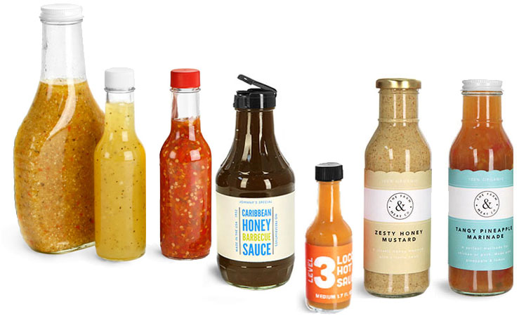 Product Spotlight - Glass and Plastic Dressing and Sauce Bottles