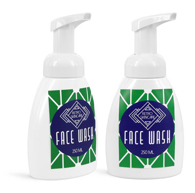Foaming Face Wash Bottles