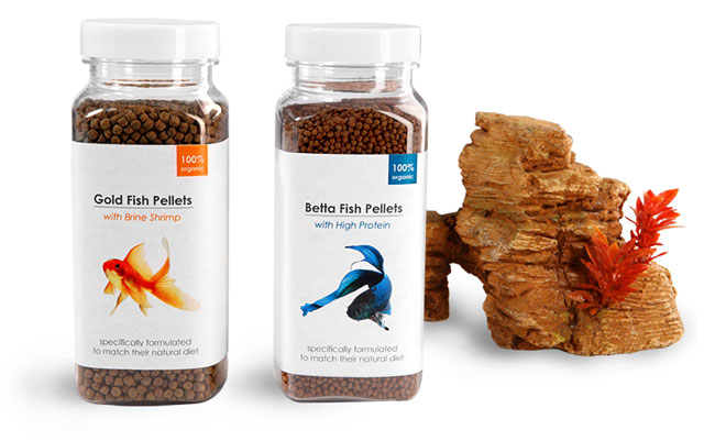 Fish Food Containers