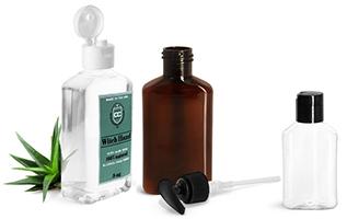 Oblong Bath & Body Bottles