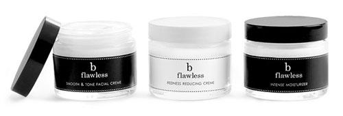 Glass Skincare Jars