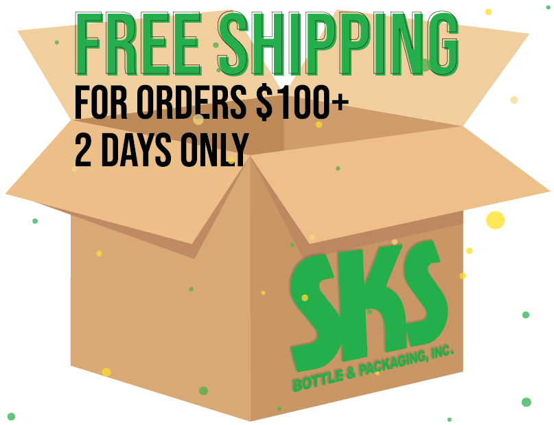 Free Ground Shipping On Orders $100 And Up!