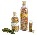 Clear Seed Bottles & Vials w/ Cork Stoppers