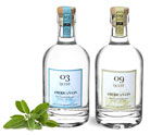 Glass Gin Bottles