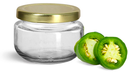 Wide Mouth Glass Canning Jars
