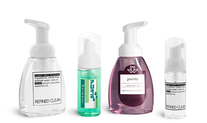 Hair care Foaming Pump Bottles