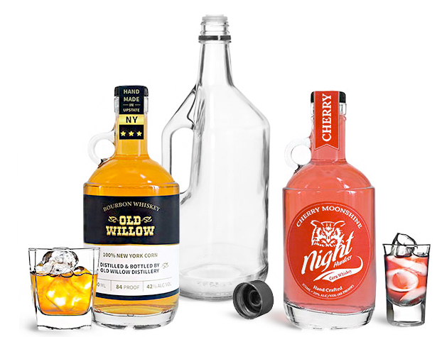 Product Spotlight - Glass Bottles with Handles for Liquors