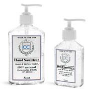 Plastic Hand Sanitizer Bottles