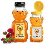 Plastic Honey Bear Bottles
