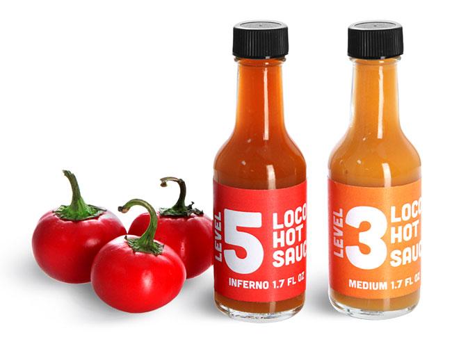 Fermented Hot Sauce Bottles