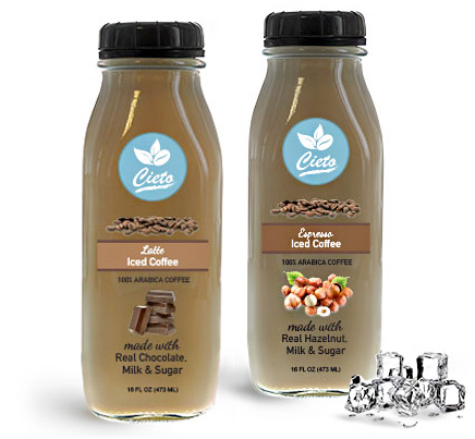 Flavored Iced Coffee Bottles