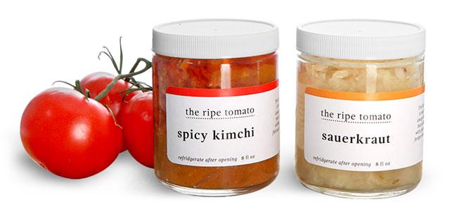 Kimchi and Sauerkraut Jars