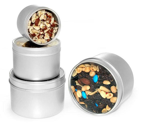 Round Metal Tins To Organize Your Kitchen