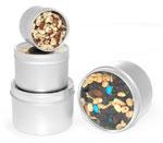 Round Kitchen Storage Spice Tins