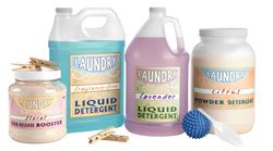Laundry Detergent Bottles & Jugs
