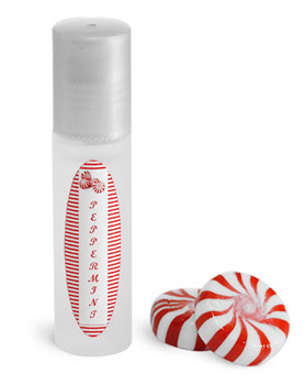 Frosted Glass Lip Balm Roll On Containers