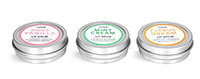 Metal Lip Balm Tins