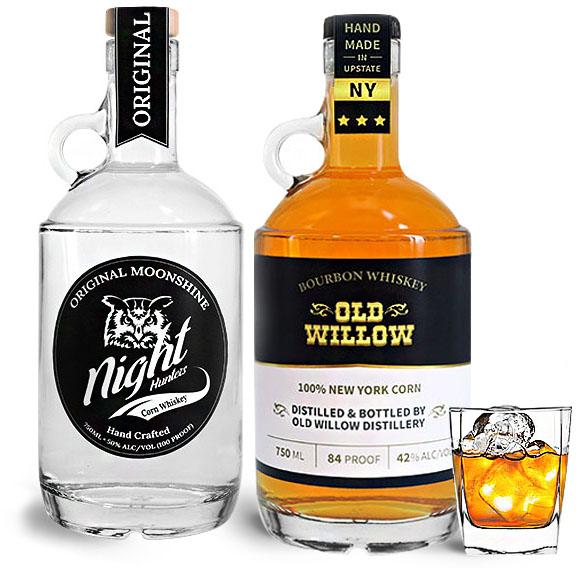 Liquor Bottles with Handles