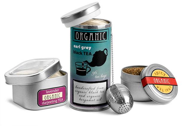 Metal Tea Tins