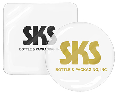 Hot Stamp Printed Mylar Disc Liners