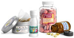Nutritional Supplement Bottles, Jars and Tins