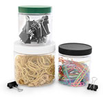 Plastic Jars To Organize Your Office
