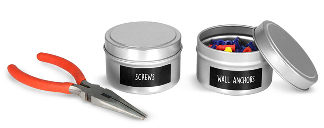Deep Metal Tins To Organize Your Shop Or Garage