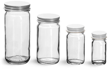 Paragon Glass Jars