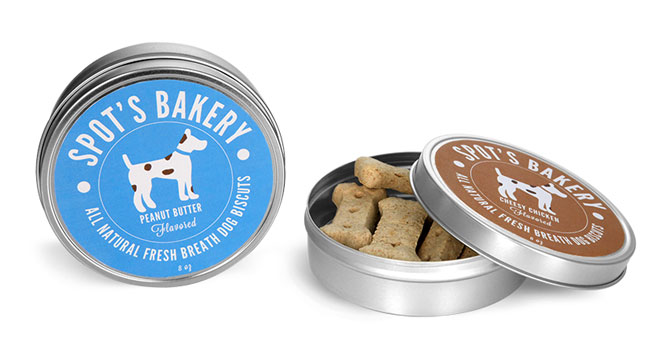 Dog Treat Tins