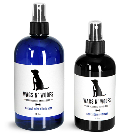Pet Grooming and Cleaning Supply Containers