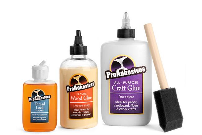 Plastic Adhesives Bottles