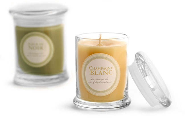 SKS Bottle Amp Packaging Candle Containers Jars And Tins Candle Jars With Flat Pressed Lids