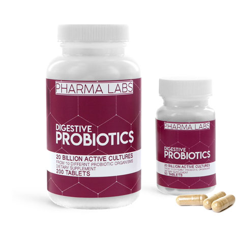 OTC Pharmaceutical Bottles, Probiotic Supplement Bottles