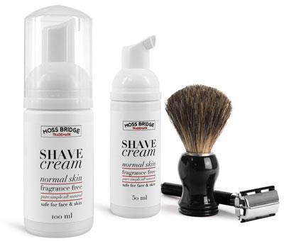 Shaving Cream Bottles