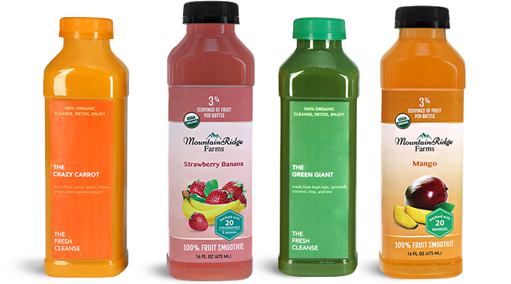 Beverage Bottles for Smoothies