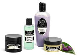 Esthetics and Skin Care Bottles & Jars