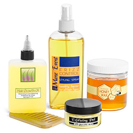 Skin Care & Hair Salon Containers