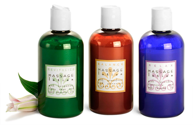 Massage Lotion Bottles