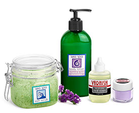 Salon Nail Care Containers