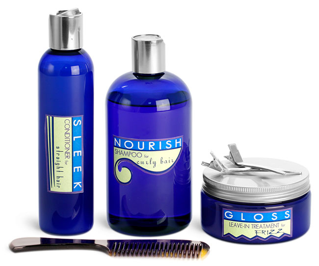 Plastic Shampoo & Conditioner Bottles
