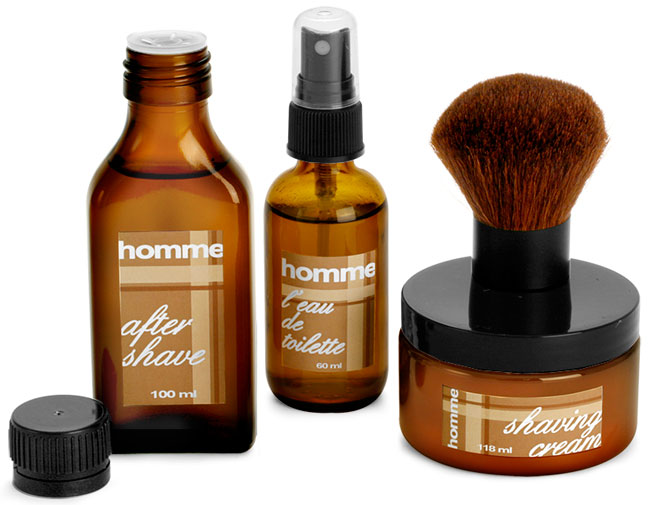 Men's Aftershave Bottles & Skin Care Containers