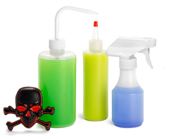 Plastic Piercing & Tattoo Bottles