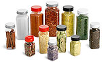 PET Plastic Spice Bottles