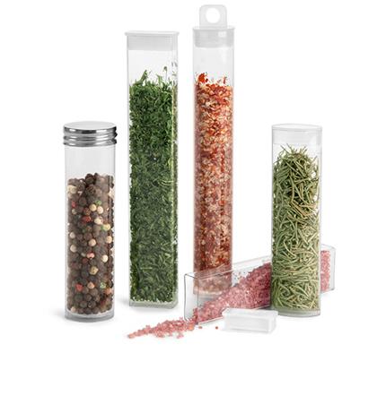Plastic Spice Tubes