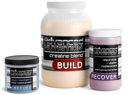 Sports Nutrition Jars