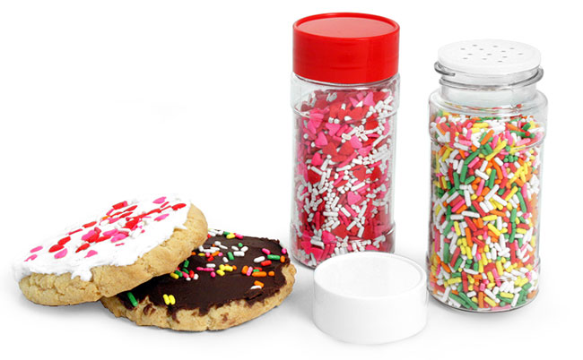 Dessert Topping Containers