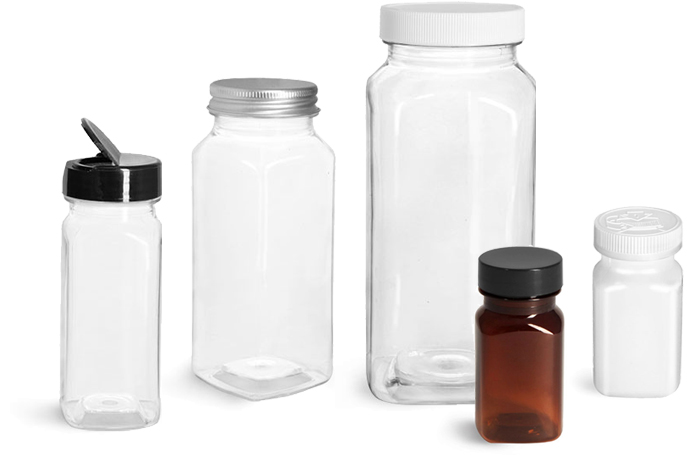 Product Spotlight - Square Bottles