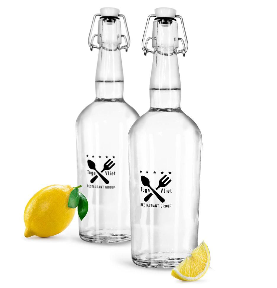 Glass Swing Top Bottles