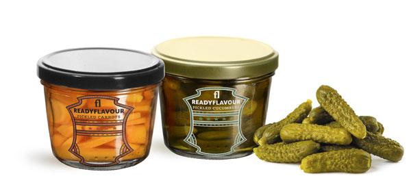 Tapered Vegetable Pickling Jars